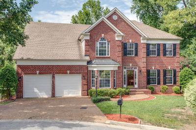 Nashville Single Family Home For Sale: 809 Century Oak Ct