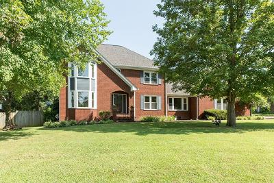 Hendersonville Single Family Home Active Under Contract: 105 Ballentrae Dr