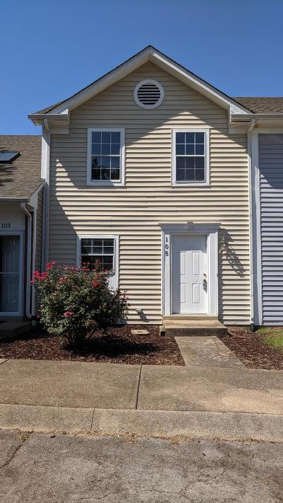 Montgomery County Single Family Home Active Under Contract: 105 Carriage Place