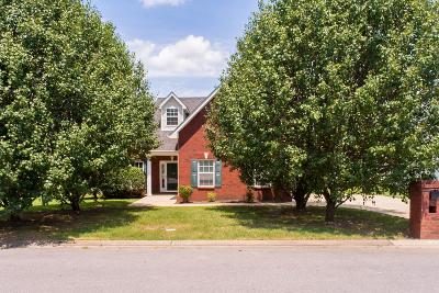Murfreesboro Single Family Home For Sale: 3325 Hamberton Cir