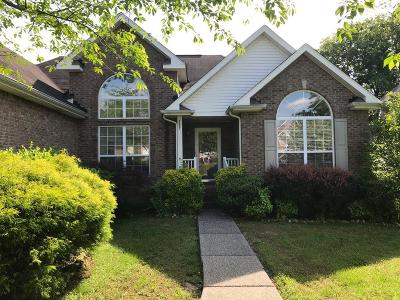 Sumner County Single Family Home For Sale: 1247 Briarcliff Ct