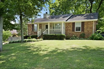 Hendersonville Single Family Home Active Under Contract: 159 Township Dr