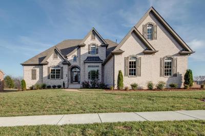 Franklin Single Family Home For Sale: 2464 Santa Barbara Lane Lot 208