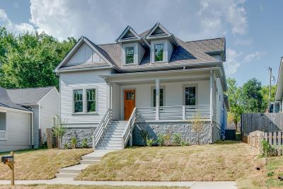 East Nashville Single Family Home For Sale: 1805 Eastside Ave