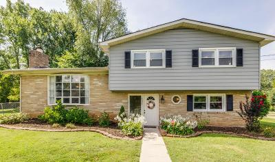 Smyrna Single Family Home Active Under Contract: 1201 Peachtree Dr