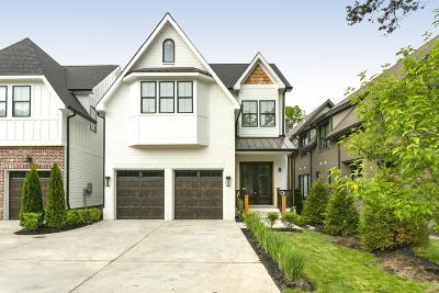 Nashville Single Family Home For Sale: 1406 Woodmont Blvd