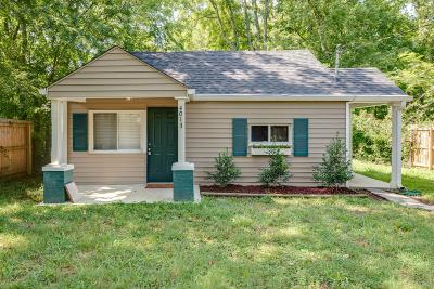 Davidson County Single Family Home Active Under Contract: 4013 Fairview Dr