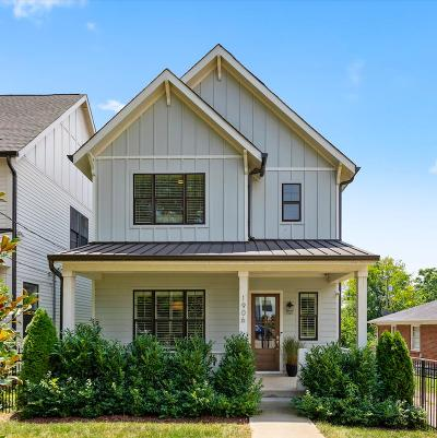 East Nashville Single Family Home For Sale: 1906 Electric Ave