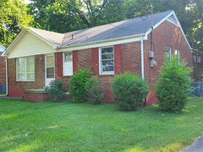 East Nashville Single Family Home Active Under Contract: 1317 N 6th St N