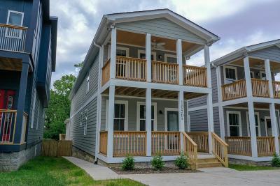 Nashville Single Family Home For Sale: 1050b Zophi St