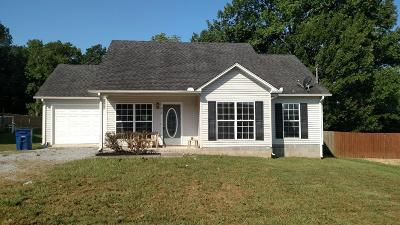 Shelbyville Single Family Home Active Under Contract: 216 Eventine Dr