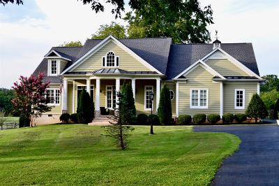 Franklin Single Family Home For Sale: 4442 Long Ln