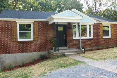 Nashville Single Family Home For Sale: 939 Patricia Dr