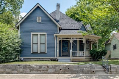 East Nashville Single Family Home Active Under Contract: 211 S 13th St