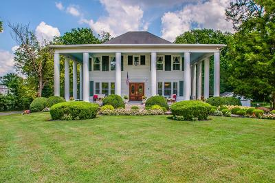 Nashville Single Family Home For Sale: 4214 Franklin Pike