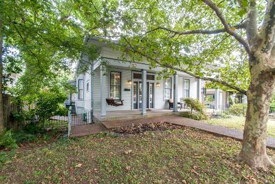 East Nashville Single Family Home Active Under Contract: 1502 Forrest Ave