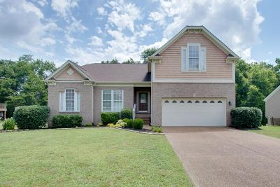 Nolensville Single Family Home For Sale: 1637 Allendale Dr