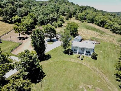 Culleoka Single Family Home For Sale: 4460 Pulaski Hwy