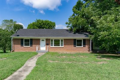 Marshall County Single Family Home For Sale: 260 Oakwood Dr