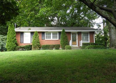 Nashville Single Family Home For Sale: 489 Westcrest Dr