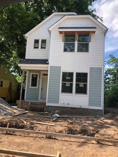Nashville Single Family Home For Sale: 2410 Alameda St