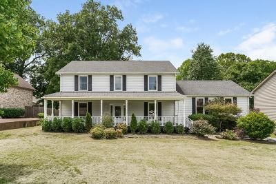 Mount Juliet Single Family Home For Sale: 1016 Brookstone Blvd