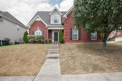 Spring Hill Single Family Home For Sale: 2019 Fiona Way