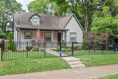 East Nashville Single Family Home For Sale: 1514 Long Ave