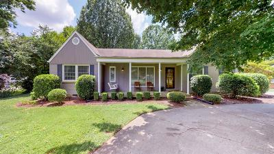 Franklin Single Family Home Active Under Contract: 113 Battle Ave