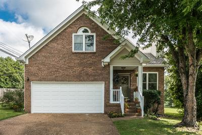 Mount Juliet Single Family Home Active Under Contract: 1226 Cedarbend Dr