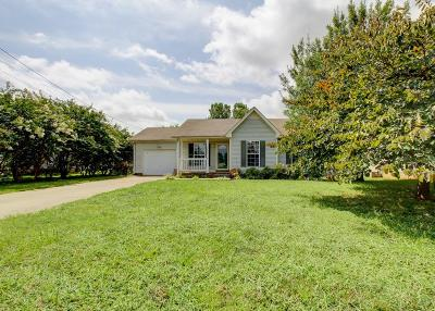 Clarksville Single Family Home Active Under Contract: 2406 Egret Dr