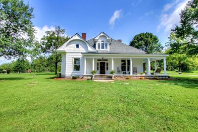 Lebanon Single Family Home Active Under Contract: 3595 Old Rome Pike