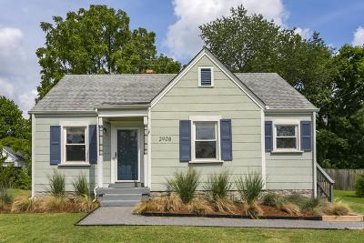 Nashville Single Family Home Active Under Contract: 2908 Dobbs Ave