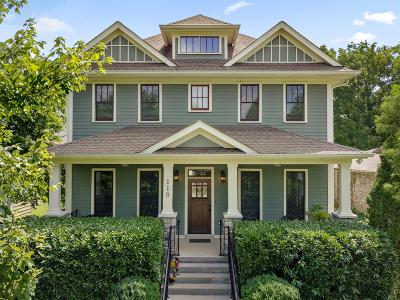 Nashville Single Family Home For Sale: 118 38th Ave N
