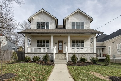 Nashville Single Family Home For Sale: 144 39th Ave N