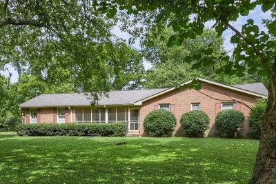 Hendersonville Single Family Home Active Under Contract: 1307 Centerpoint Rd