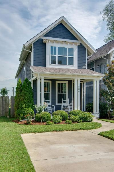 Nashville Single Family Home For Sale: 606B Moore Ave