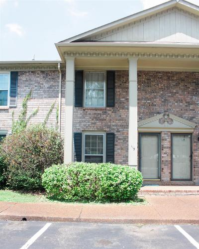 Davidson County Condo/Townhouse For Sale: 115 Northcrest Ct