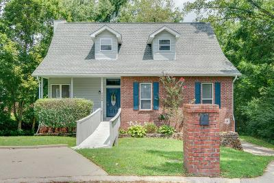 Nashville Single Family Home Active Under Contract: 3208 Lumberjack Rd