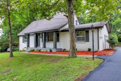 Nashville Single Family Home Active Under Contract: 2661 Mossdale Dr