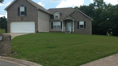 Smyrna Single Family Home For Sale: 102 Haas Ct