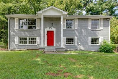 Nashville Single Family Home For Sale: 604 Waxhaw Dr
