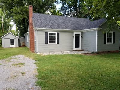 Murfreesboro Single Family Home Active Under Contract: 405 Hale Ave