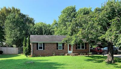 Smyrna Single Family Home Active Under Contract: 906 Peachtree Dr