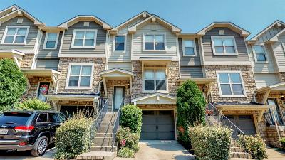 Bellevue Condo/Townhouse For Sale: 1068 Woodbury Falls Dr