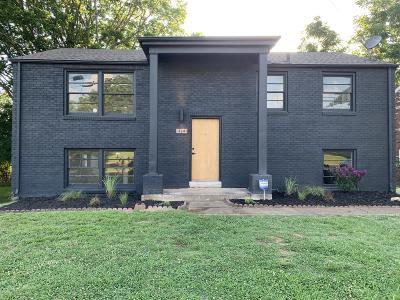 Nashville Single Family Home For Sale: 3241 Mayer Ln