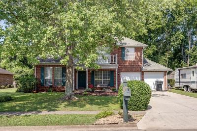Columbia Single Family Home Active Under Contract: 106 Bell Grove Drive