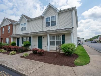 Murfreesboro Condo/Townhouse Active Under Contract: 2715 Dancing Wolf