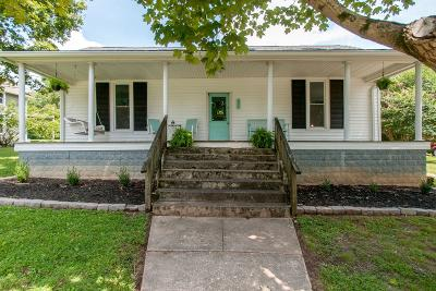 Kingston Springs Single Family Home Active Under Contract: 334 Oak Street