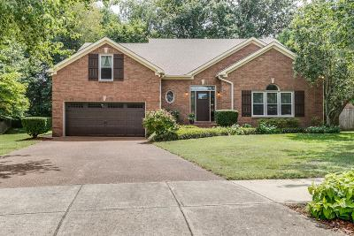 Franklin Single Family Home Active Under Contract: 2416 Adair Ct